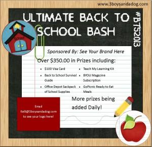 Back to School Bash 20131 300x290 The Ultimate Back to School Bash: Blogger Signups #BTS2013