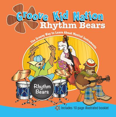 "Review of Groove Kids Nation ""Rhythm Bears"" Children's Music CD"