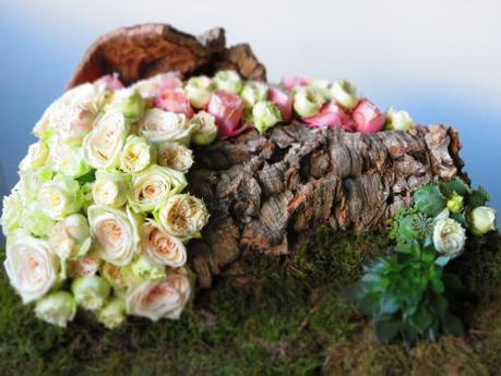 Floral Art with Garden Roses