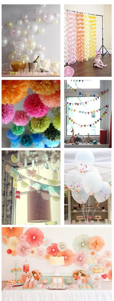ideas and inspiration for crafty diy party decorations for wedding decorating