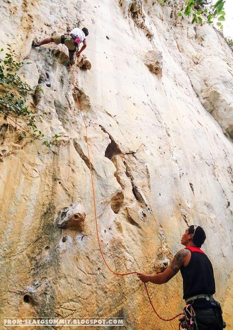 WEEKEND ADVENTURE | Rock Climbing at Cantabaco