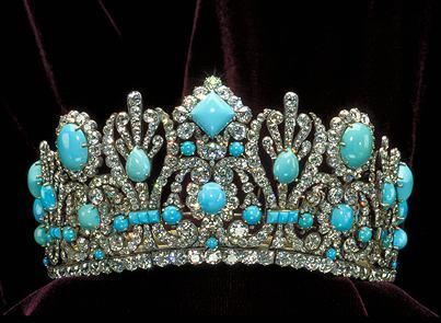 A tiara of the Empress Marie-Louise of France