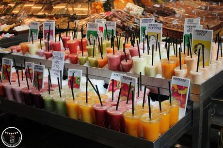 Fresh juices of different combinations
