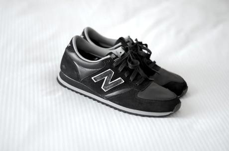new balance 420 black leather