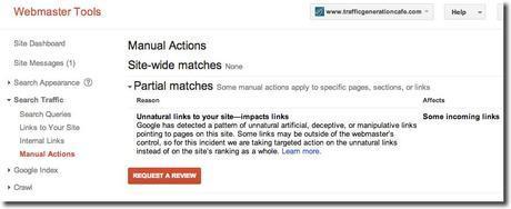 marketing news manual action
