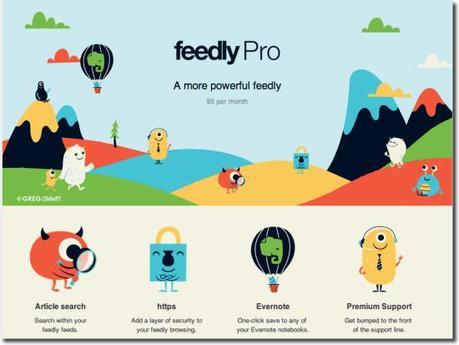 feedly pro news