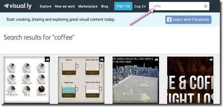 visual.ly marketing news