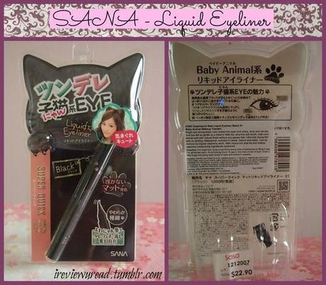 Eyelashes post - Detailed makeup Review (Maybelline- The falsies volume express, Sana- Liquid Liner, Pan - Eyelash Adhesive)