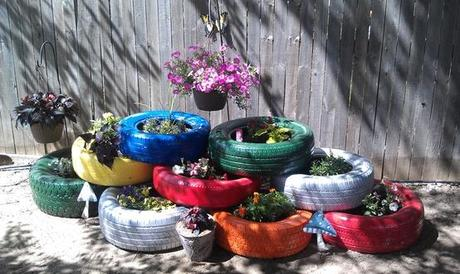 How to reuse old tires