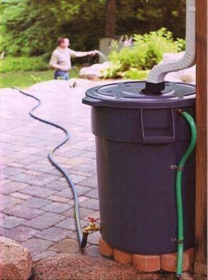 Great idea for recycling water!