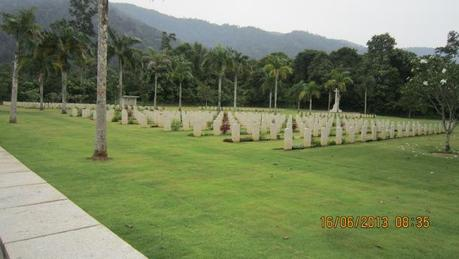 Historical sites were on the list of places to visit, such as the Taiping War Memorial
