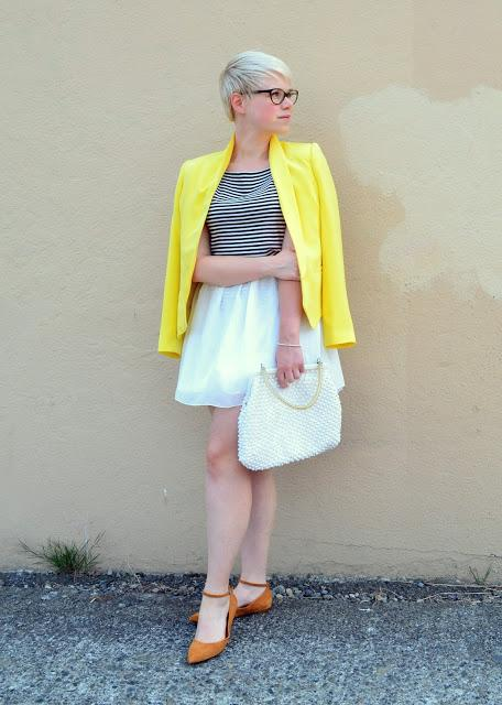 Oasap, blonde, summer, fashion, street style, in style, vintage
