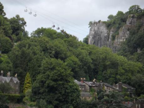 Heights of Abraham from Gulliver's Matlock Bath