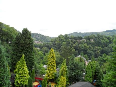 Views from Gulliver's Matlock Bath