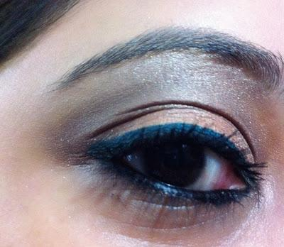 EOTD with Orange, Bronzy Plum and Emerald