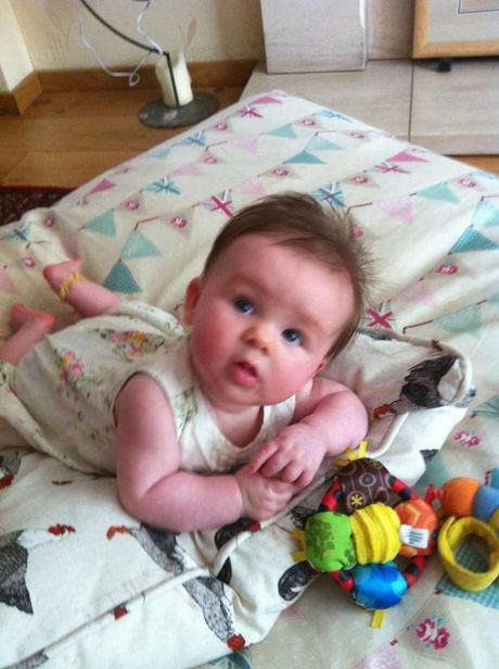 Isabelle's 4 month check-in