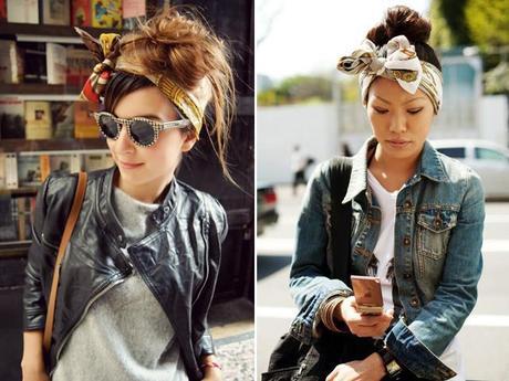 how to diy headscarf trends 2013 covet her closet celebrity gossip fashion