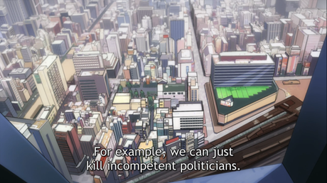 Gatchaman Crowds Episode 5