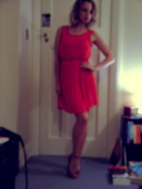 OOTD - Lady in Red