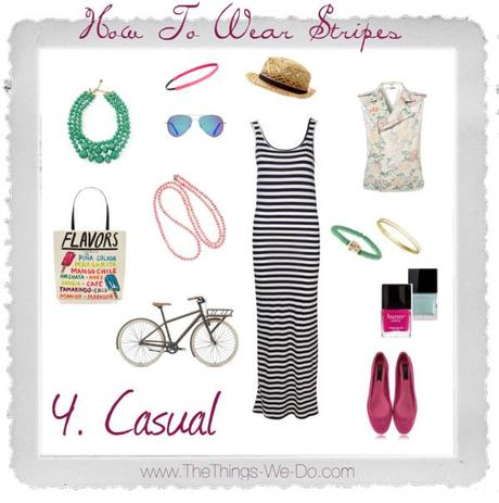 How To Wear Stripes. Casual