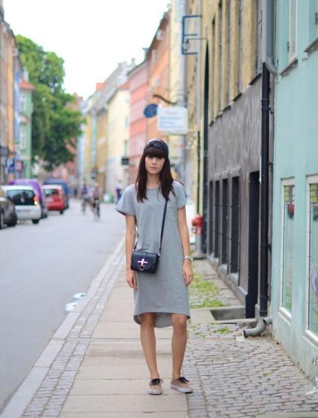 copenhagen streets t-shirt dress outfit