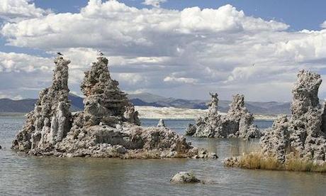 The Tufa Towers Of Mono Lake