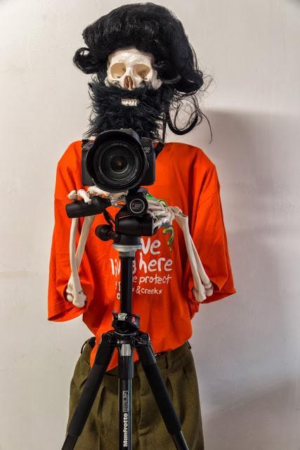 dressed skeleton using a camera