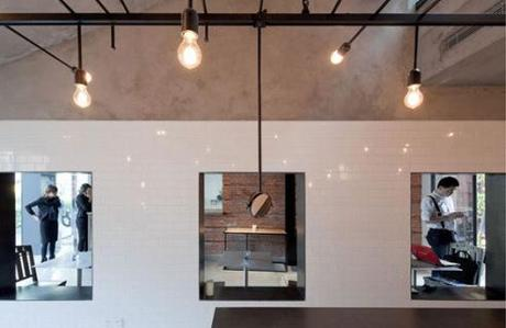 The Commune Social restaurant by Neri & Hu