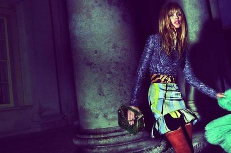 DOUTZEN KROES FOR EMILIO PUCCI FALL 2013 CAMPAIGN