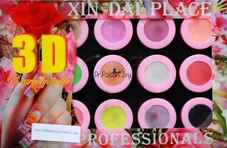 3D Nail Decoration Powder Review
