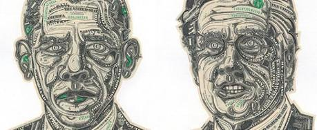 The Art of Money: Impressive Paper Money Collages by Mark Wagner