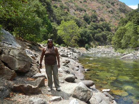 Hiking through King's Canyon