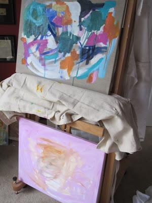 Scenes from my studio