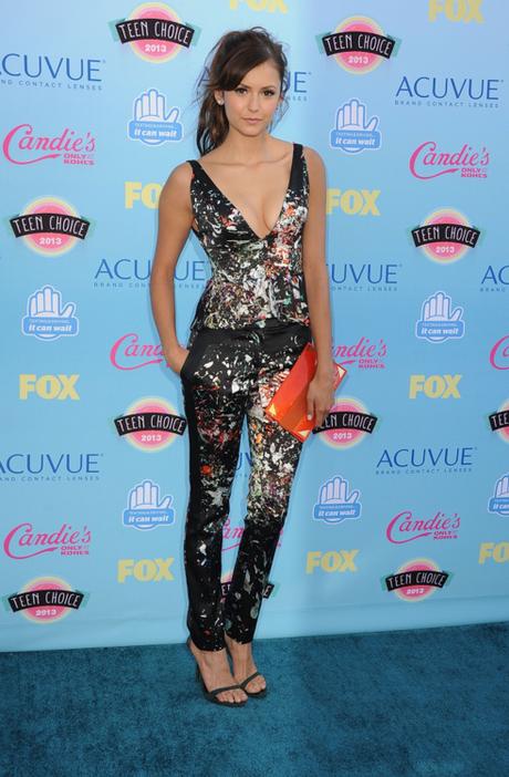 samanthakay-style:   Nina Dobrev at the 2013 Teen Choice...
