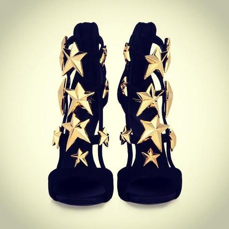 Today's Object of Desire: Giuseppi Zanotti Star Sandals #giuseppizanotti  #shoes #ood #object of desire