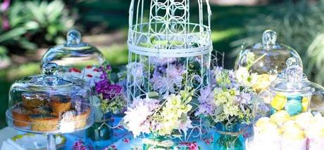 A Garden Party Morning Tea for a Naming Ceremony by Sugar Buzz Dessert Tables and Lolly Buffets