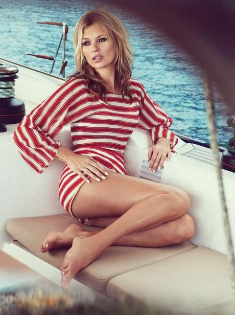 KATE MOSS Summer Retro for Vogue UK