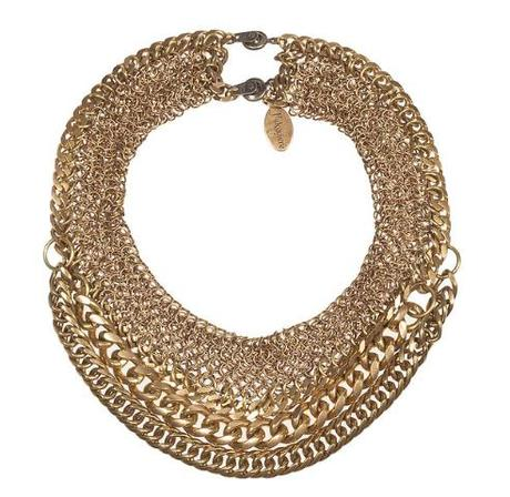 Falconiere Multi-Textured rope chain necklace