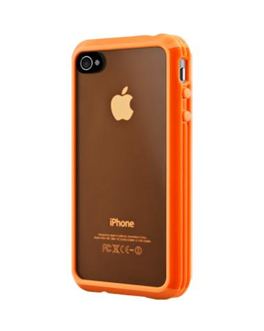 Orange iPhone 4 Trim case from SwitchEasy