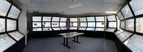 The full-scale HSSL virtual control room. (Credit: Idaho National Laboratory via Flickr http://www.flickr.com/photos/inl/9423633610/in/set-72157634903739552)