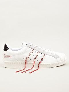 Tight, Clean Yet Threadbare:  Adidas Originals X Y's Men's Super Position Sneakers