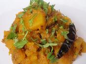 Khatta Meetha Kaddu/ Pumpkin Curry