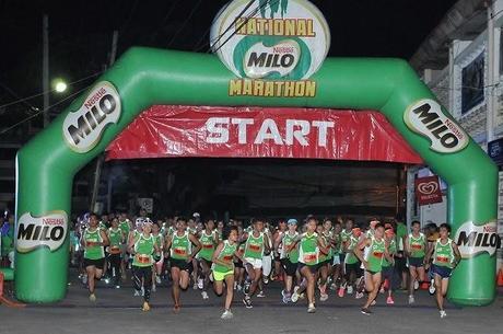 37th National MILO Marathon Dumaguete