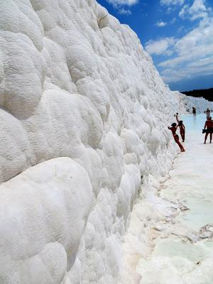 PAMUKKALE and Turkey's Ancient Greek City of HIERAPOLIS