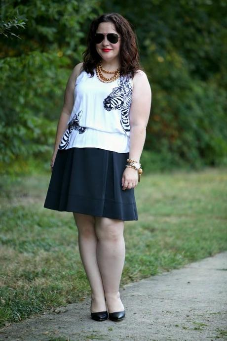 What I Wore: Zebra