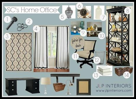 E-Design: Putting the finishing touches on a home office