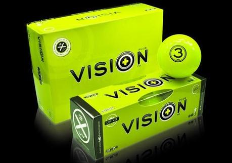 UV Absorbing Glow Balls - Vision Golf