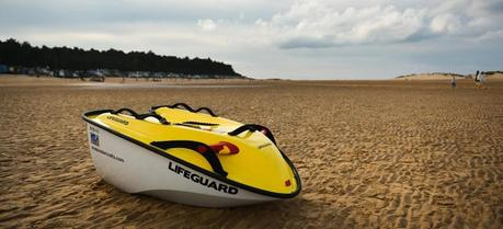 Asap is an electric power assisted water craft for beach lifeguards. (Credit: asapwatercrafts.com)