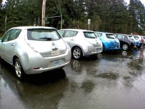 Electric Vehicles (Image Source - Oregon DOT)