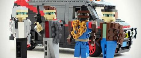 Lego Cars from 1980s Pop Culture Television and Movies